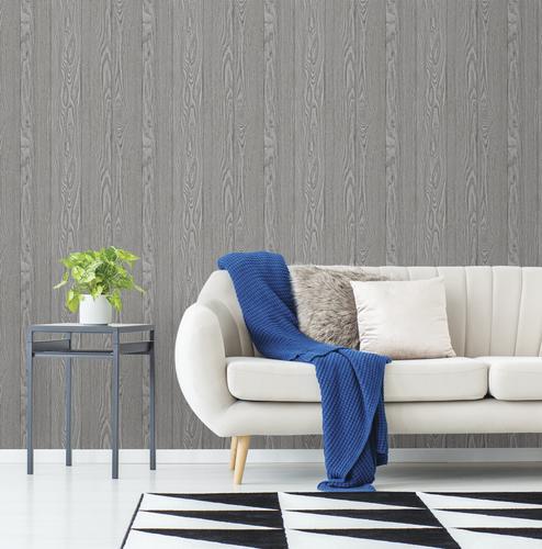 Inhome Timber Peel Stick Wallpaper Roll At Menards