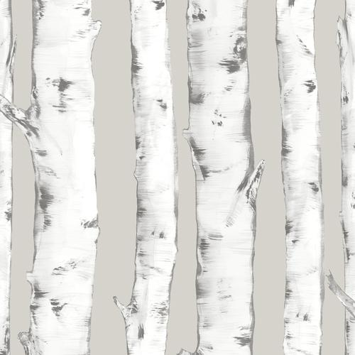 In Home Downy Birch Peel Stick Wallpaper At Menards