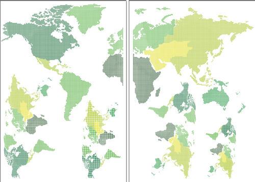 Brewster WallPops World Map Wall Decals at Menards®