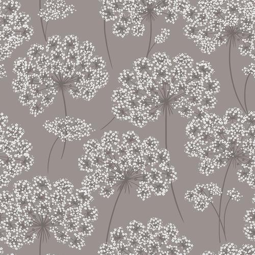 Nuwallpaper Angelica Grey Peel Stick Wallpaper Roll At Menards