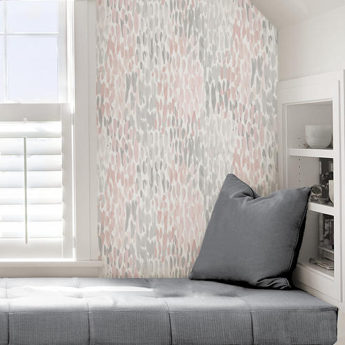 blush home decor.htm nuwallpaper contemporary peel   stick wallpaper at menards    peel   stick wallpaper