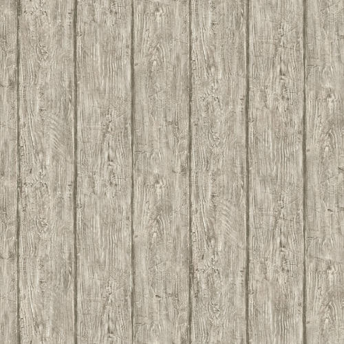 Brewster Outerbanks Gray Faux Wood Wallpaper At Menards