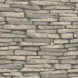 Inhome Hickory Creek Stone Peel Stick Wallpaper Roll At Menards