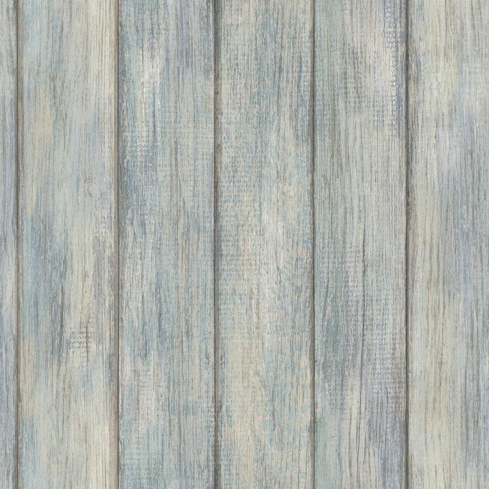 Inhome Nantucket Plank Peel Stick Wallpaper Roll At Menards