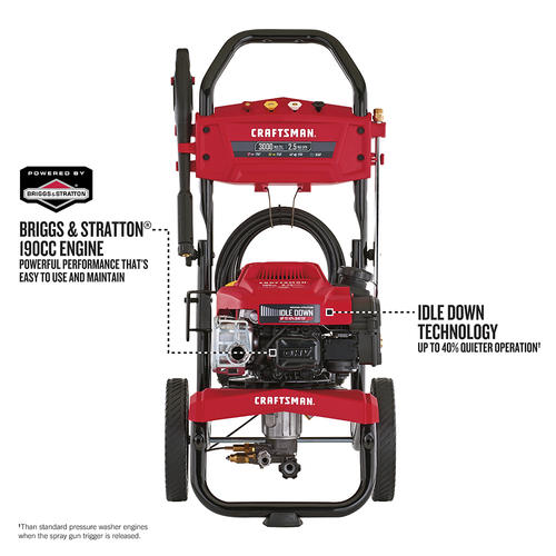 Craftsman® 3000 PSI 2 5 GPM Gas Pressure Washer at Menards®
