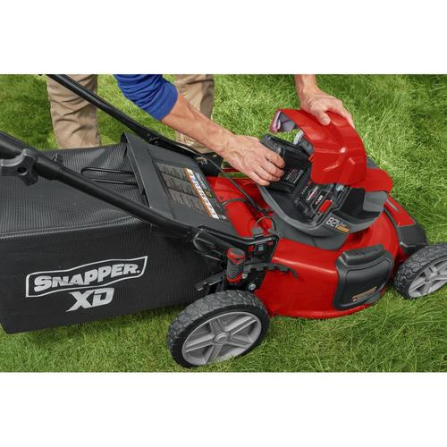 Snapper 174 Xd 82v Max Series 21 Quot 82 Volt Cordless Self