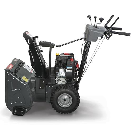 Menards Snow Blowers >> Briggs Stratton 24 208cc Two Stage Electric Start Gas