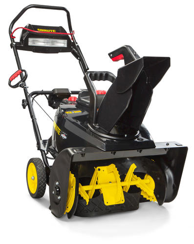 Menards Snow Blowers >> Brute 22 205cc Single Stage Gas Snow Blower With Snowshredder