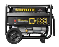 generators at menards®brute® 3,500 running 5,250 starting watt gasoline portable generator