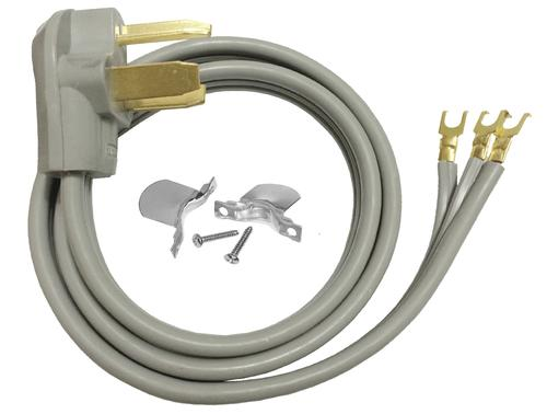 Smart Electrician® 4' 30A 3-Wire Dryer Appliance Cord at ... on
