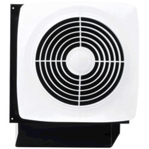 Broan® 180 CFM Direct Discharge Wall Exhaust Bath Fan With Built-in Switch At Menards®
