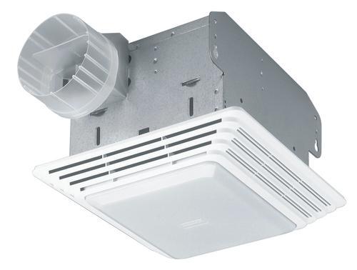 Menards Bathroom Fans broan® 50 cfm ceiling exhaust bath fan with light at menards®