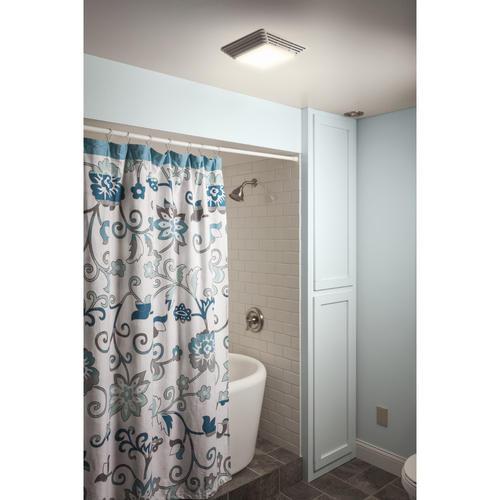Broan 80 cfm heavy duty ceiling exhaust ventilation fan - Broan 80 cfm bathroom fan with light ...