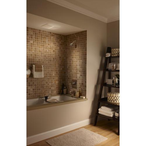 broan® sensonic™ 110 cfm ceiling bath exhaust fan with