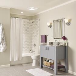 broan® 100 cfm heater ceiling exhaust bath fan with light