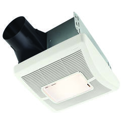 Broan Invent 80 Cfm Ceiling Exhaust Bath Fan With Light