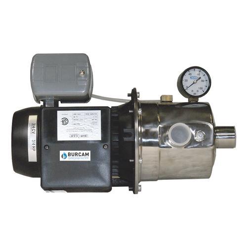 BURCAM 506518SS 3//4 HP Stainless Steel Shallow Well Jet Pump