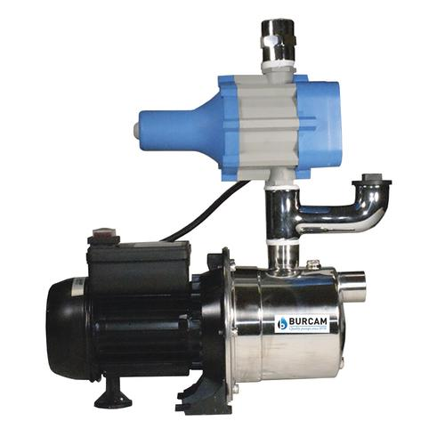 1//2HP Booster Pump Water Pressure Tankless Shallow Well Self-priming Jet Pump System