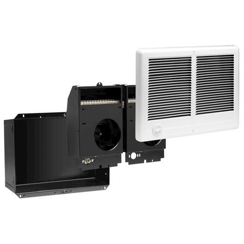 Cadet 4 000w 240v Complete Unit Wall Heater White With