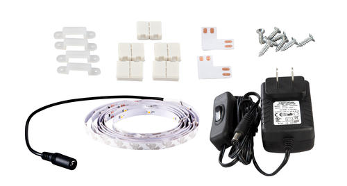 Patriot Lighting 78 Bright White Flexible Plug In Led Tape