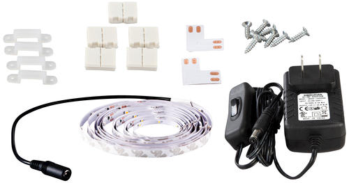 Patriot Lighting 16 4 White Flexible Plug In Led Tape Light At Menards