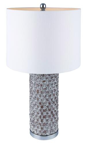 Canarm CAY White Wash 1 Light Table Lamp at Menards®