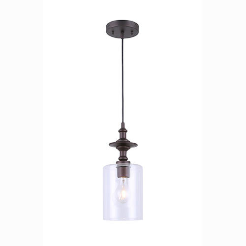 Oil Rubbed Bronze 1 Light Pendant