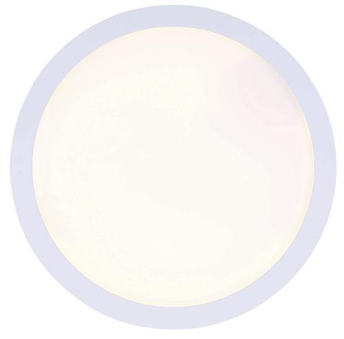 Patriot Lighting® White Round Edgelit Integrated LED Flush