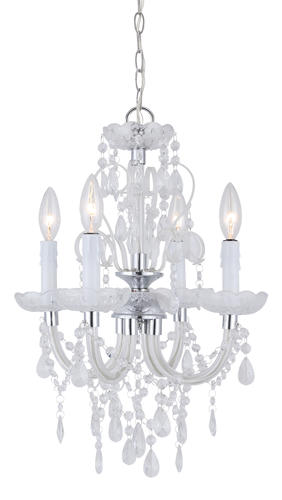 Patriot Lighting® Marlene 14-1/2  Chrome 4-Light Chandelier at Menards®  sc 1 st  Menards & Patriot Lighting® Marlene 14-1/2