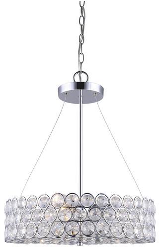 Patriot lighting alice 17 1 4 chrome 3 light pendant at menards
