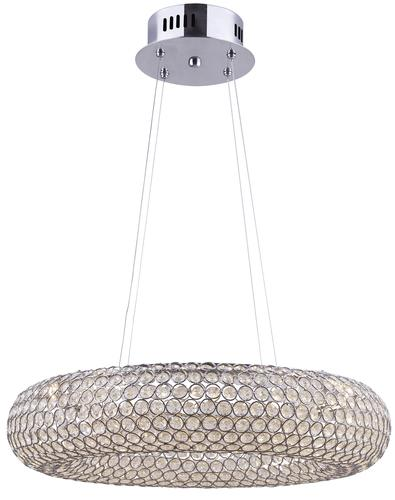 Patriot Lighting Arya Chrome Led Pendant At Menards