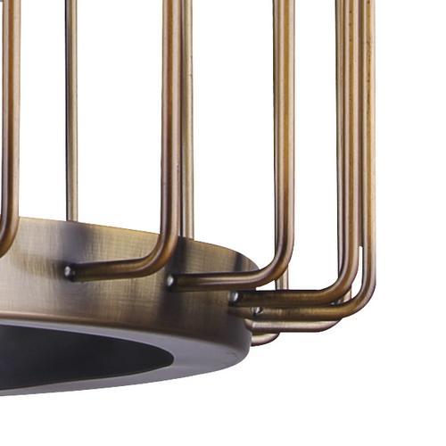 a0b6d8070d Patriot Lighting® Paz Gold 3 Light Pendant at Menards®