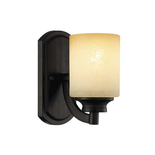 "Bathroom Sconces Menards patriot lighting® warren 8 1/4"" antique bronze transitional wall"