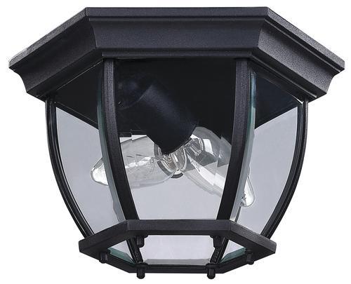 Canarm Ltd Foyer Black Outdoor Ceiling Light At Menards