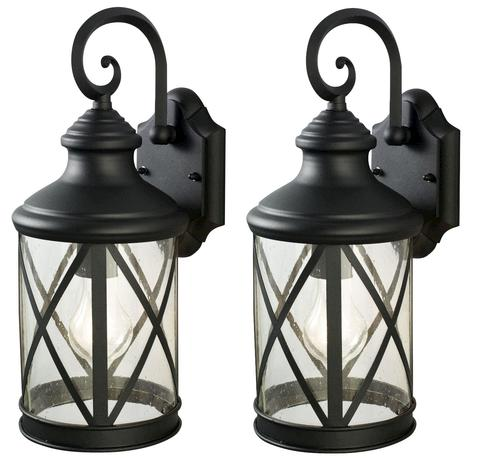 Patriot Lighting  Sonoma 16  Large Black Incandescent Outdoor Wall Light    2 pk at Menards Patriot Lighting  Sonoma 16  Large Black Incandescent Outdoor Wall  . Menards Exterior Lighting. Home Design Ideas