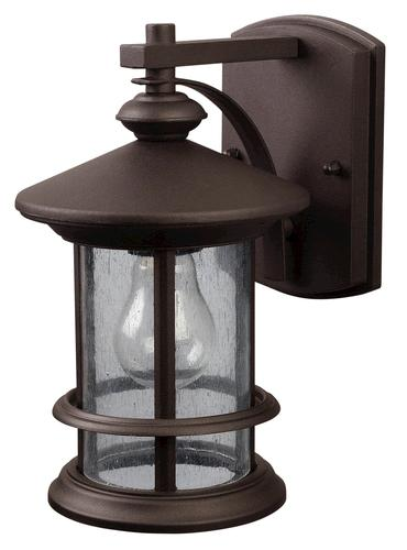 Patriot Lighting Tree House Oil Rubbed Bronze Outdoor Wall Light At Menards