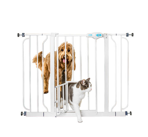 Carlson 29 44 Walk Through Pet Gate At Menards