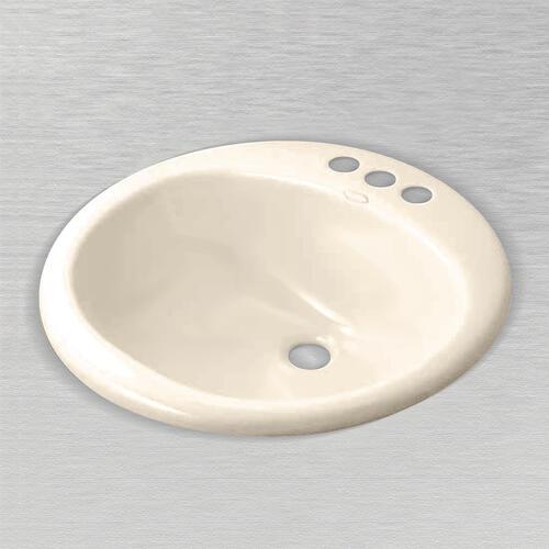 Ceco Nevis 19 Round Drop In Bathroom Sink 8 Center At Menards