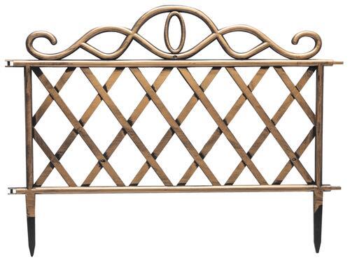 """18.9"""" x 10.6"""" Four Pack Lattice Border Fence at Menards®"""