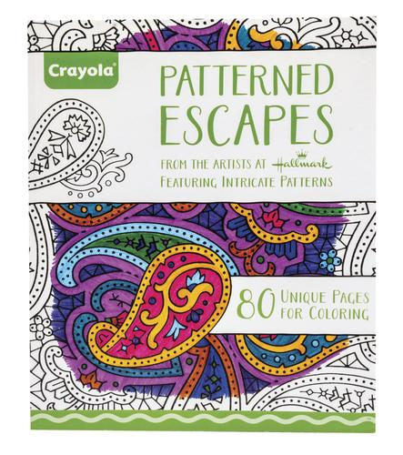 Crayola® 80-Page Adult Coloring Book at Menards®