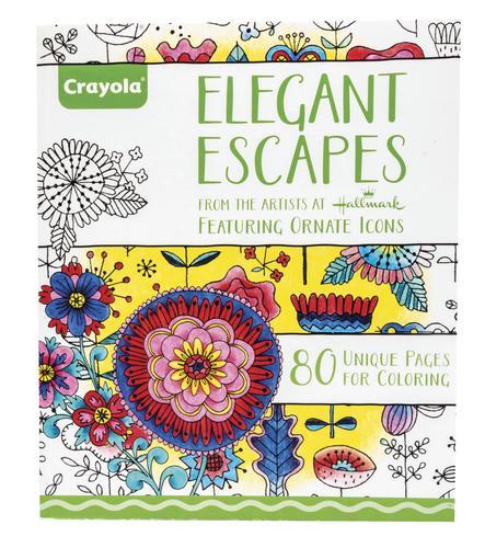 Crayola® 80-Page Adult Coloring Book at Menards®