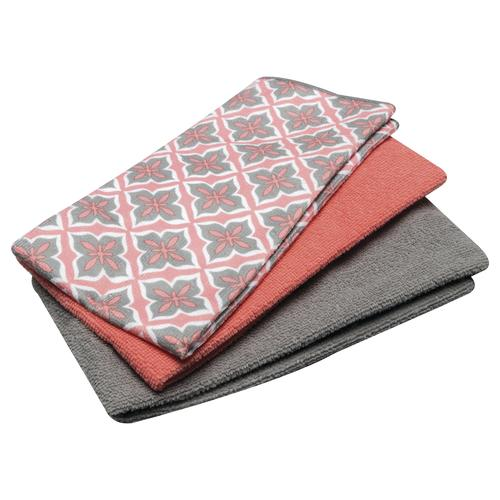 Household Trends™ 3-Piece Microfiber Kitchen Towel Set - Assorted