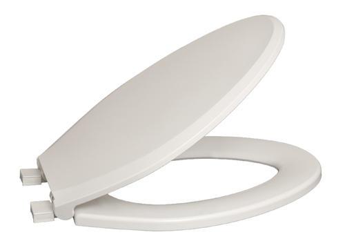 Awe Inspiring Mansfield Plastic Elongated White Toilet Seat At Menards Machost Co Dining Chair Design Ideas Machostcouk