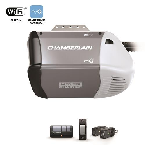 Chamberlain 1 2 Hp Chain Drive Garage Door Opener Good At Menards