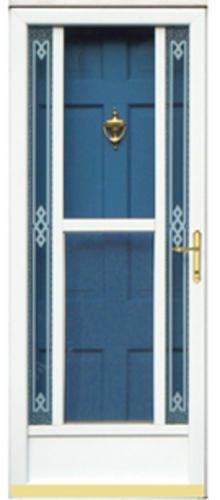 ChamberDoor Astra Mid-View Storm Door at Menards®