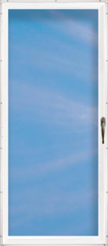 menards screen doors. ChamberDoor Summerlea 32  x 80 Nickel Hardware Aluminum Fullview Storm Door at Menards