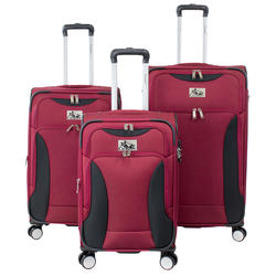 31ed11534728 Chariot Madrid Red Spinner Luggage Set - 3 Piece