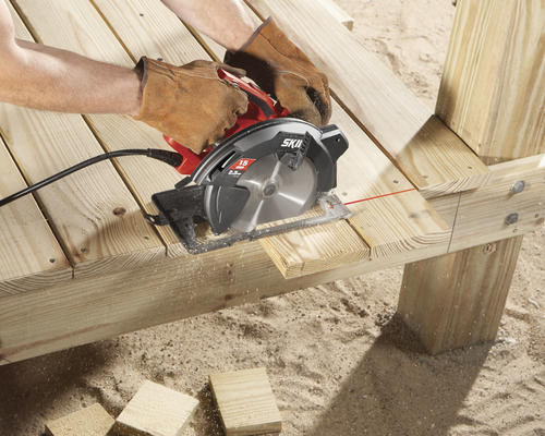 SKIL 5280-01 15-Amp 7-1//4-Inch Circular Saw with Single Beam Laser Guide