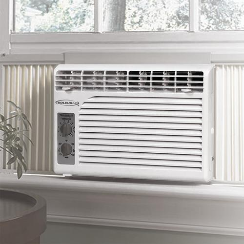 Soleus Air® 5,000 BTU 115-Volt Mechanical Window Air Conditioner at