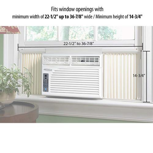 Soleus Air 174 8 000 Btu 115 Volt Window Air Conditioner At